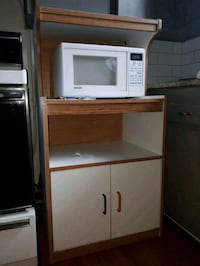 Microwave stand kitchen cabinet Mississauga