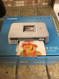 Canon Selphy CP740 photo printer