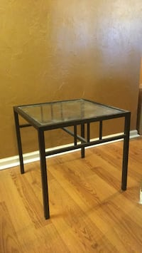 square black wooden side table Tallahassee, 32303