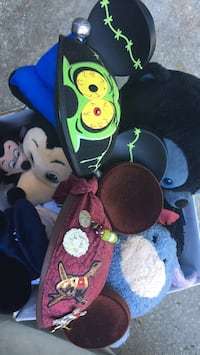 2 disney mickey mouse hats  Palm Bay, 32907