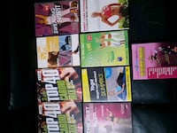 Workout DVDs  2 of them unopened  Brampton, L6S 2L7