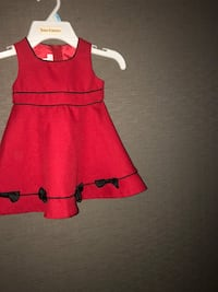 red and black sleeveless dress Los Angeles, 90020