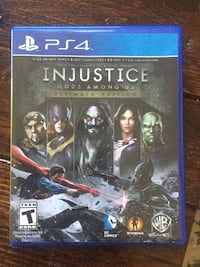 PS4 Injustice Gods Among Us game case Winter Haven, 33884