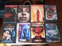 9 Stephen King DVDs... $4 Each or 30 For All Firm... Calgary
