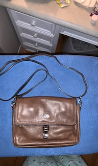 Leather purse great space organizer