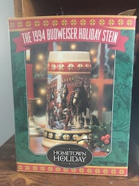 Four Budweiser steins in boxes 94, 95, 98 and 99 Northampton, 18067