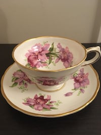 Grosvenor vintage cup and saucer