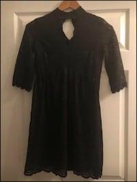 Dress- black lace  Gaithersburg, 20878