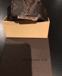 BROWN AND GOLD BUCKLE BELT BRAND NEW