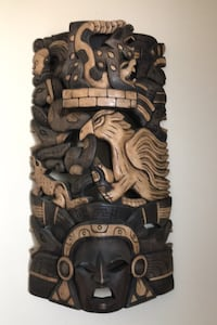 Hand carved, wooden wall mount carving Edmonton, T5H 1N8