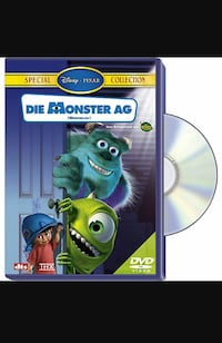 Die Monster AG DVD