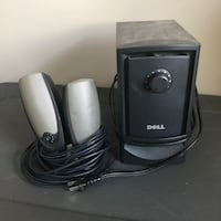 Dell 2.1 multimedia speakers with subwoofer Bel Air, 21015