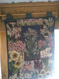 brown and green floral painting La Plata, 20646