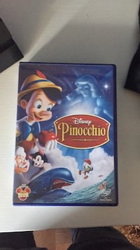 Disney Pinocchio DVD moviecase 6999 km