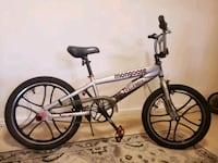 gray and black Mongoose BMX bike Alexandria, 22304