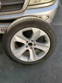 4 BMW x6 rim and tire ....  Haymarket, 20169