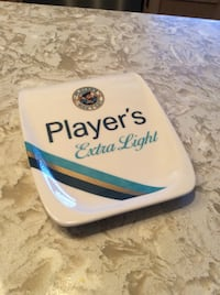 Vintage Players Navy Cut Tip Coin Tray Courtice