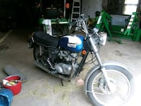 black and gray cruiser motorcycle Marne, 49435