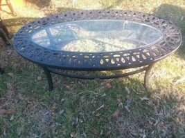 Indoor and Outdoor Lazboy coffee table
