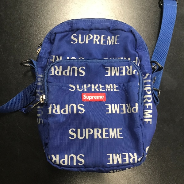 2247d24503 Used 2016 Supreme 3M Repeat Reflective Side Shoulder Bag in Blue for sale  in Chino - letgo
