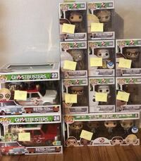 Ghostbusters Reboot Funko Pop Lot Toccoa, 30577