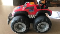 red and black ride-on toy car Franklin, 45005