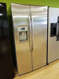 stainless steel side by side refrigerator with water dispenser Woodbridge, 22191