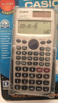 gray and black Texas Instruments TI-84 Plus Centreville, 20120