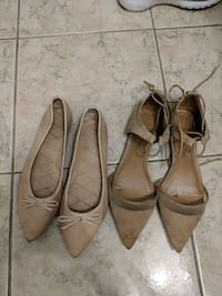 2 pairs of nude flats (F21 & Zara) - $5 for both Toronto
