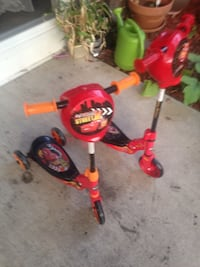 toddler's red and black trike Madison, 53714