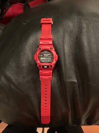 Casio Men's G-Shock Limited Edition Red Digital Watch Model#: G7900A Caledon, L7C 1A2