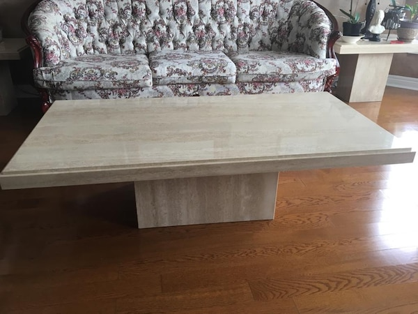 Marble Coffee Table and Side Table Set 6a9f295d-a335-4b52-9b9f-0a1fa083e1dd