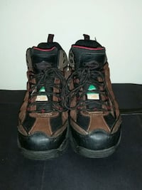 Used once steel toed boots size 10 Chilliwack, V2R 3W9