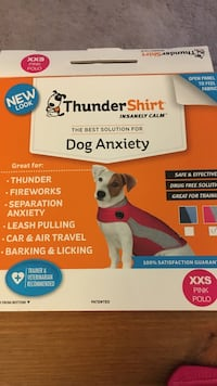 XXS Thunder shirt for dogs  Germantown, 20874