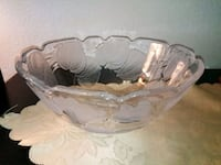 Large Frosted Bowl for Salad, Punch, Chips, etc. Lake Forest, 92630