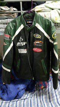 88 Dale Earnhardt Jr real leather jacket size larg Glen Burnie, 21060