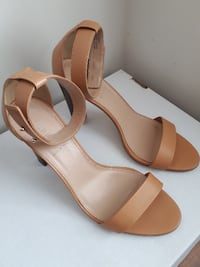 J. CREW ANKLE STRAP SANDALS HEELS 3.5 inches