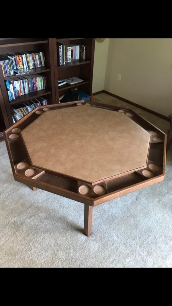 foldable 8 person poker table