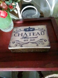 Chateau Marmont metal box Philadelphia, 19114