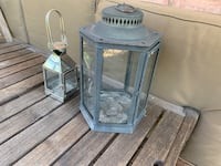 Pottery Barn Lanterns - crate and barrel, west elm 33 km