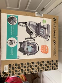 New Babytrend Jogger Baby Stroller/Car Seat Bundle