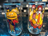 1970's McDonald's Collectible Glasses Stafford, 22556