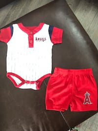 toddler's red and white onesie Aliso Viejo, 92656