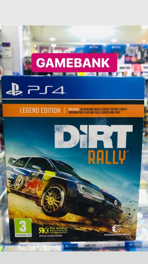 Ps4 DİRT RALLY GAMEBANK b944b311-592d-4119-96af-b2ff77944bd3