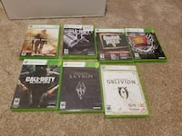 Xbox 360 games $2apeice or $10for all 7