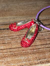 Red and silver heart pendant Shoal Creek Estates, 64804