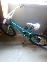 toddler's blue and black bicycle 33 km
