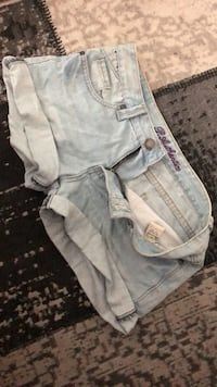 Jeans mini shorts Levanger, 7600