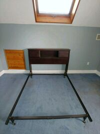 full or double bed and frame.