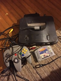 N64 with all wires, controller and game  Port Colborne, L3K 4J2